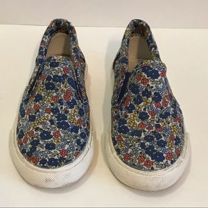 BeneBene Toddler Girls' Slip-On Floral Sneakers